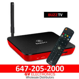 BUZZTV XPL 3000  (WHOLESALE ONLY) ANDROID 7 HD 4K TV BOX