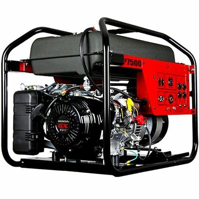 Winco Dp7500 - Dyna Professional 7500 Watt Electric Start Portable Generator