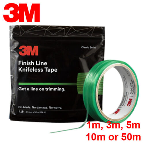 3M Finish Line Knifeless Tape - Car Wrapping Films Vinyl Decals Striping Wrap UK