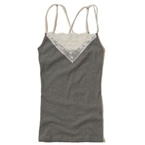 HOLLISTER LACE STRAPPY TANK TOP-NEW!