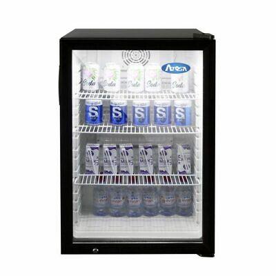 Countertop Refrigerated Display Case Merchandiser 5 Cubic Feet One Glass Door