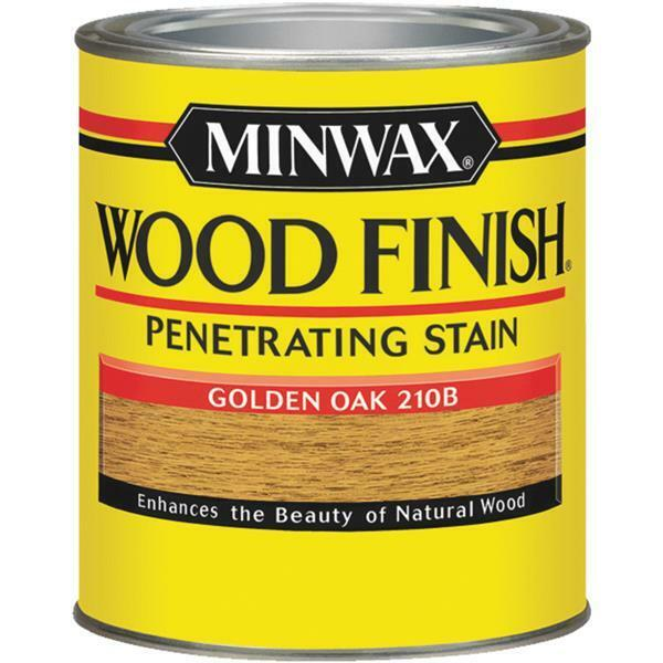 Minwax Wood Finish Penetrating Interior Surface Stain ? Golden Oak 8 OZ 22716444