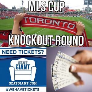TORONTO FC PLAYOFF TICKETS! KNOCKOUT ROUND! Wednesday!!!