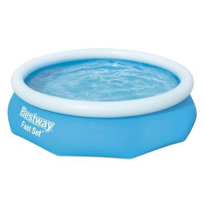 Bestway Fast Set Family Kids Pool 10 Foot x 30 Inches Outdoor Summer Fun