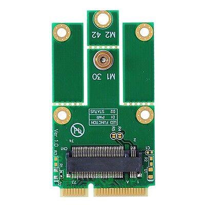 M.2 (NGFF) WiFi+Bluetooth 4.0 card to mini PCI-e(USB) Adapter for Intel 7260NGW