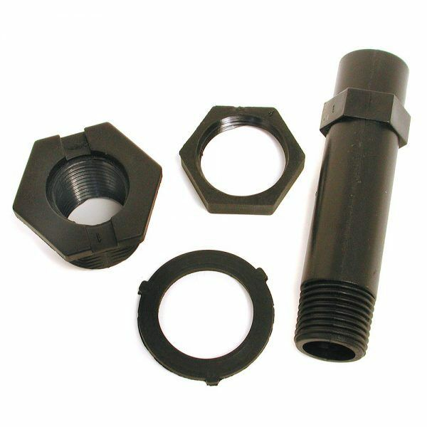 Nylon Drain & Overflow Pipe Kit for Evaporative/Swamp Cooler