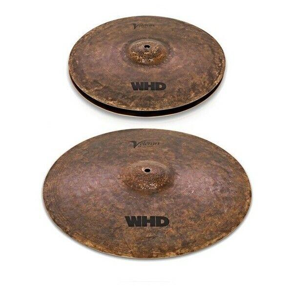 WHD Veteran 18'' Crash & 14'' Hi-Hats Cymbals