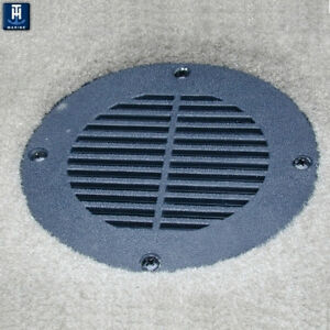 Th marine floor drain vent cover for 4 hole black fd 4 for 10 inch floor drain cover