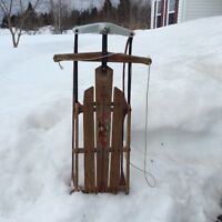 Antique  Flexible Red Flyer Sled
