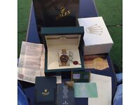 Rolex submariner SWISS BOX AND PAPERS
