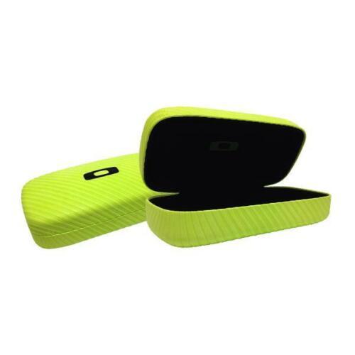Brand New  Oakley SunglassesSquare O Hard Case  - Neon Yellow with the box