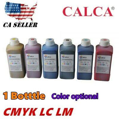 Us Stock 1l Bottle Color Compatible Mimaki Eco Solvent Ink C M Y K Lc Lm