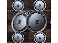 Classic 14 Inch BMW E30 E34 E28 Wheel Trims for Steel Wheels