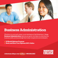 Get Your Business Administration Diploma Online