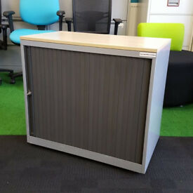 Metal Tambour with Wood Top 720x800x480mm 41 available