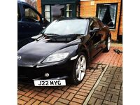 SOLD SOLD SOLD SOLD MAZDA RX8 49800 192bhp 55 PLATE RED/BLACK LEATHER INTERIOR