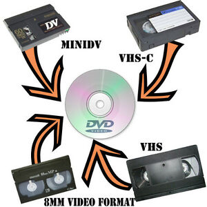 Transfer VHS, Hi8 or other camcorder tapes to DVD Peterborough Peterborough Area image 3