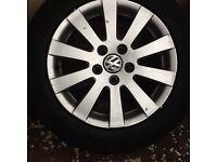 VW Passat B6 wheelset R16