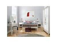 Bentley Designs Atlanta White Bedroom Furniture EX Display