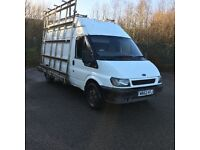 Glass rack for van top fleet