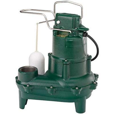 Zoeller D264-0003 - 410 Hp Cast Iron Sewage Pump 2 W Vertical Float 230v