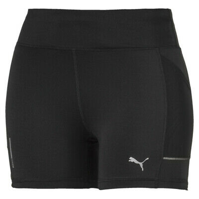 Puma Women's Ignite Short Tight Leggings Shorts Puma Black 518262 Bnwt - New