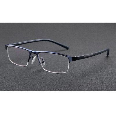 Color Change Lens Reading Glasses Half-Rim Photochromic Eyeglasses (Change Glasses)