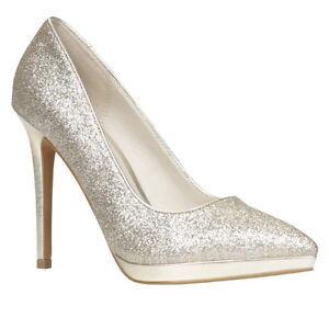 Gold Sparkly Heels from Aldo Size 8- Worn Once! London Ontario image 1
