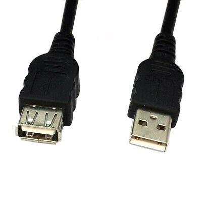 3m USB Verlängerung Kabel A Stecker auf A Buchse folien und geflechtgeschirmt Folie Usb