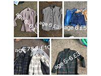 Boys clothes ages 6-8