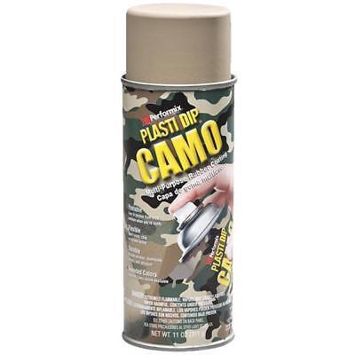 6 Pk 11 Oz Performix Plasti Dip Tan Camo Rubber Coating Spray Paint 11215-6