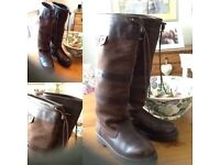 Dubarry ' Galway ' boots in Walnut -