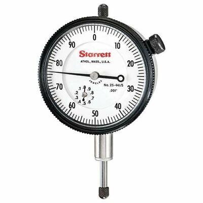 Starrett 25-4415j 0-.500 .001 0-100 Agd Dial Indicator