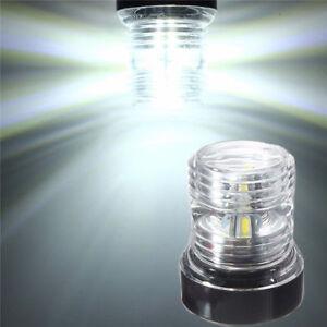 Marine Boat Yacht LED Navigation Light Stern Anchor White Lights All Round 360°