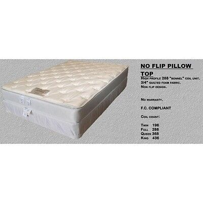 (NEW Full Size Promotional PILLOW TOP Mattress SET - HOUSTON ONLY!)