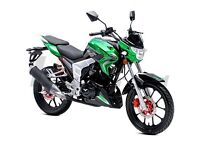 *Brand New* 66 plate Lexmoto Venom 125. Warranty. Delivery. Part-Ex, Learner legal