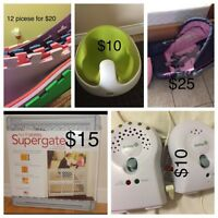 baby items moving sale
