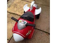 Radio flyer retro rocket ride-on