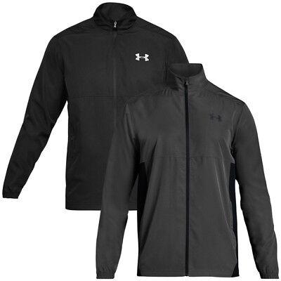 Herren Woven Zip (Under Armour Sportstyle Woven Full Zip Jacket Men Herren Freizeit Jacke 1320123)