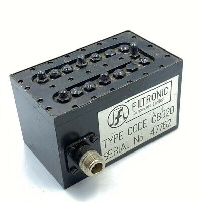 655-740mhz Uhf Band Pass Filter Filtronic Cb320 N Type