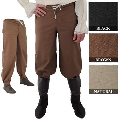 Pirate Pants Medieval Renaissance rendezvous Cosplay LARP SCA Costume (Pirate Costums)