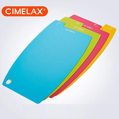 [Cimelax] Antimicrobial Chopping Board Set 4 Pcs Index Slim Doma Cutting Board