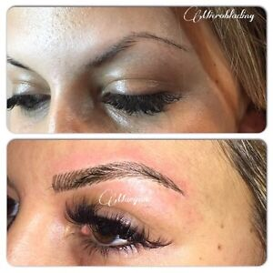 HAIR STROKE EYEBROWS ($279 holiday special) Cambridge Kitchener Area image 6