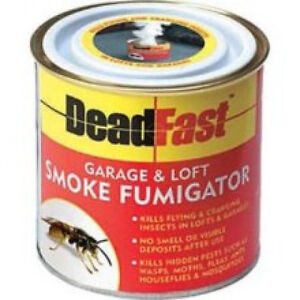 DeadFast Garage and Loft Fumigator - Wasp Killer - Generates Smoke