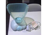 Thermal spa facial sauna steamer (mint green colour)