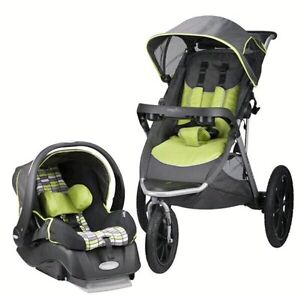 Brand New Evenflo Victory Stroller with car seat Tucson