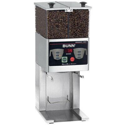 Bunn Fpg-2 Dbc 6 Lb. French Press Double Hopper Coffee Grinder 120v 36400.0000