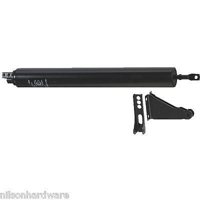 15 Pk Black Steel Adjustable Closing Speed Storm Screen Door Closer N181610