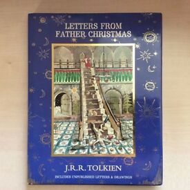 'Letters from Father Christmas' by JRR Tolkien. Hardback, like new condition.