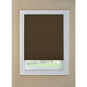 "70""W Room Darkening - Brown Cordless Cellular Blind"